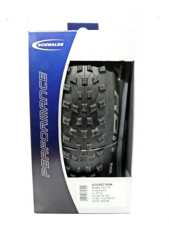 "29x2.25 Schwalbe Rocket Ron Performance Dual Compound MTB Bike Tyre 29"" 29ER"